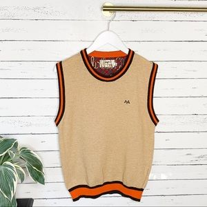 Burberry Sweaters - Thomas Burberry Tan Sweater Vest